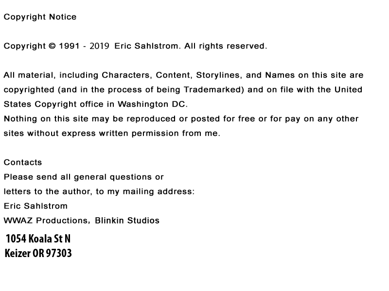 Neon Ninja Copyright Information